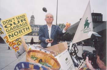 juggling compost campaign